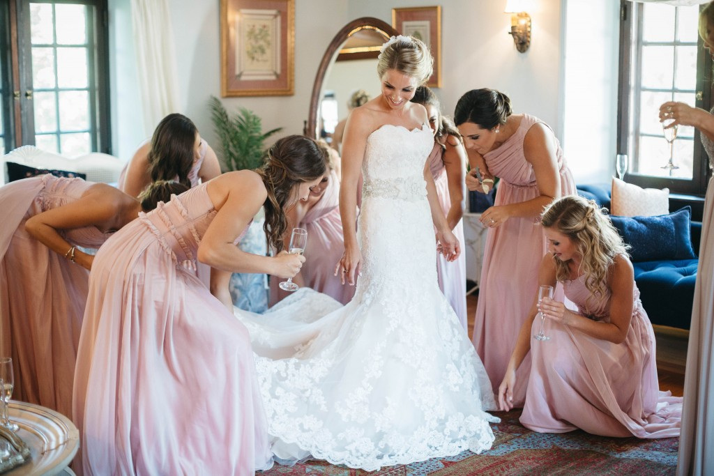 Bridal makeup for Willowdale Estate wedding
