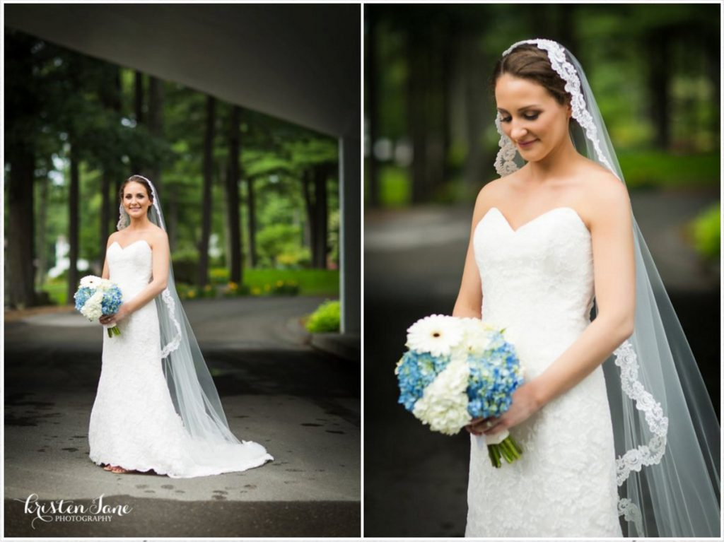 Bridal hair and makeup for International Golf Club wedding